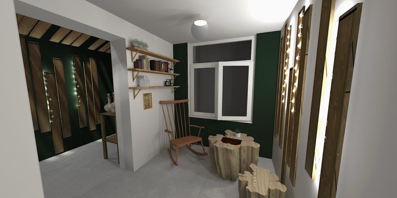 Un pop-up store forêt enchantée pour Florence Robbiano